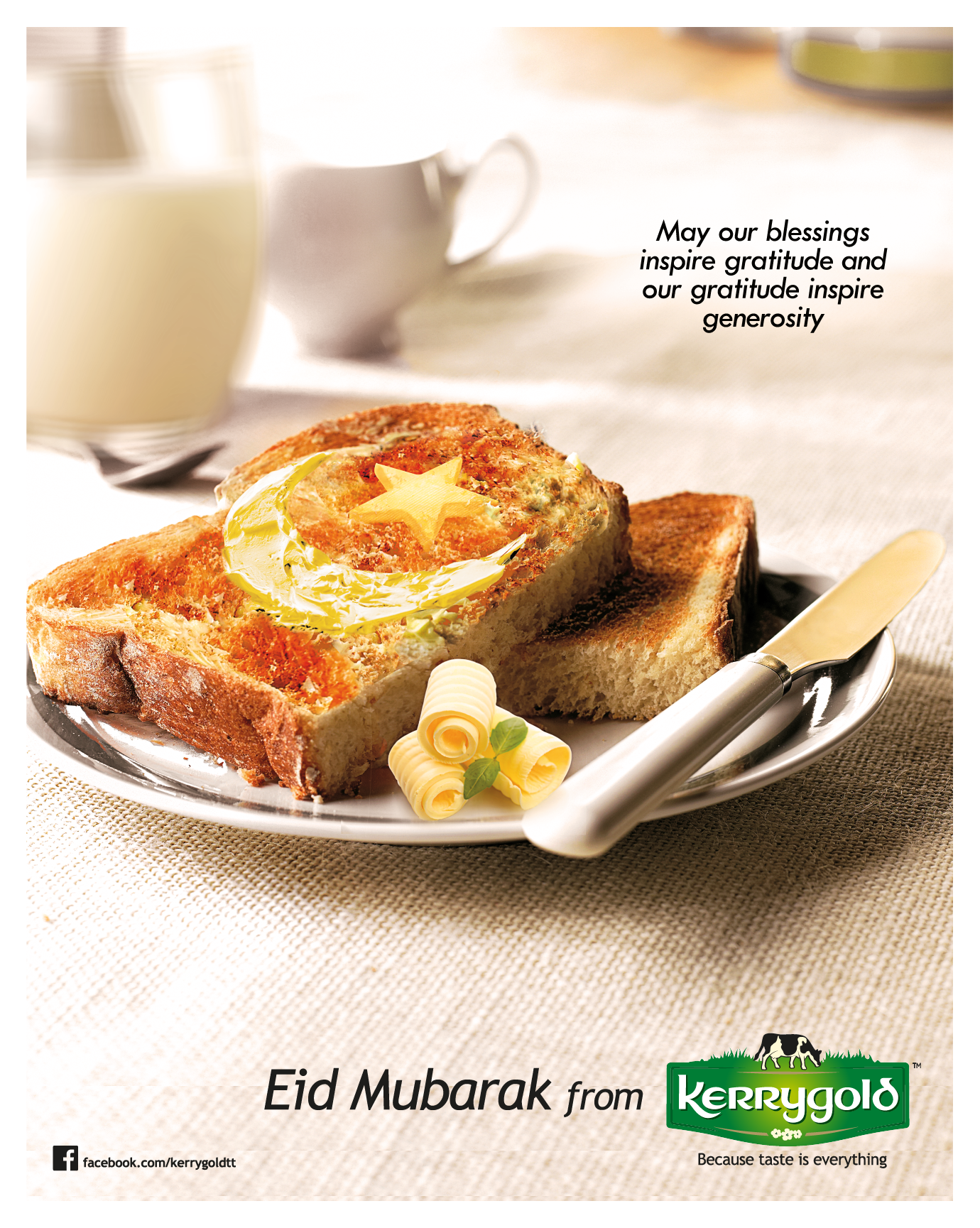 Kerrygold EID Greetings – 2016 ADDY Award Winner